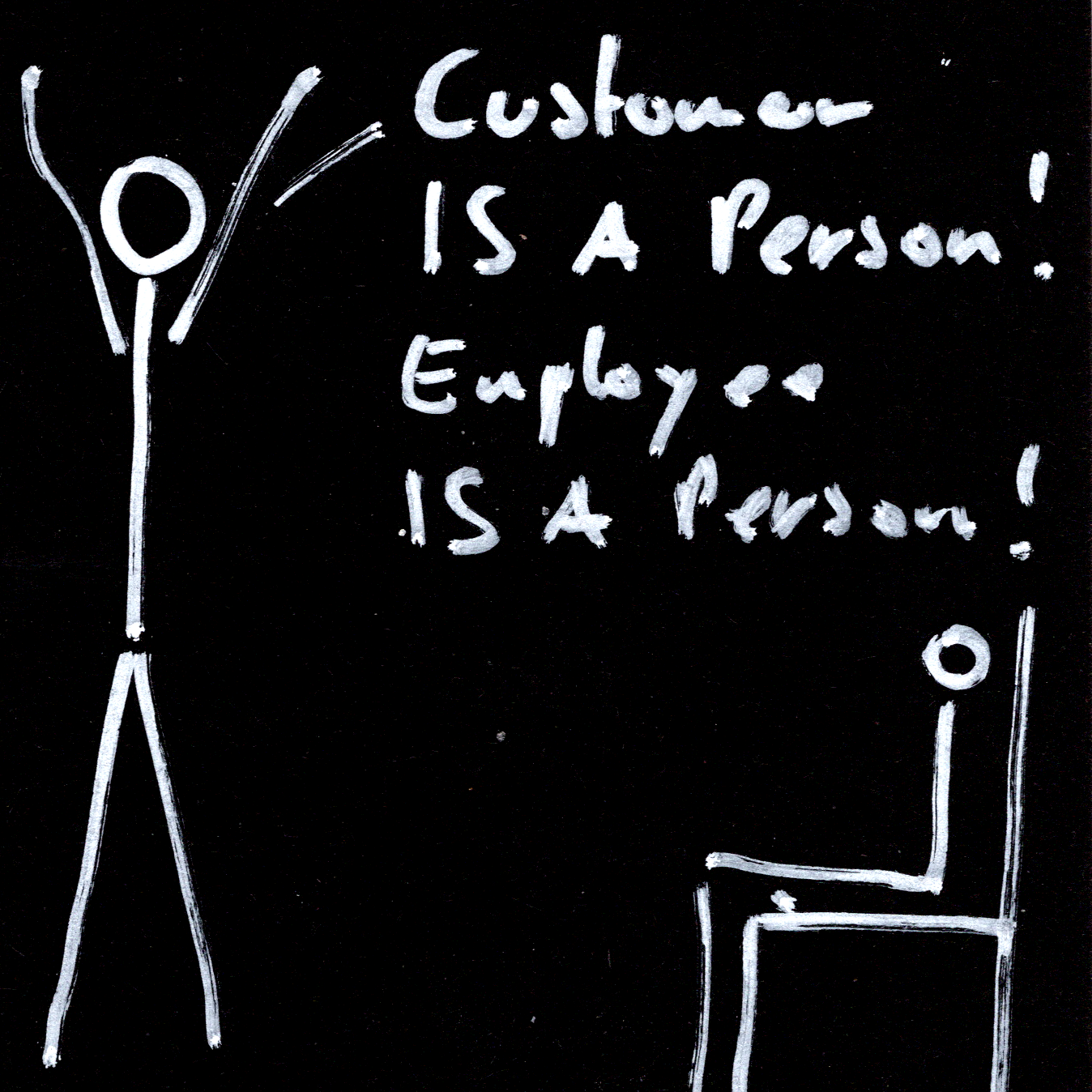 Customer IS-A Person! Employee IS-A Person!